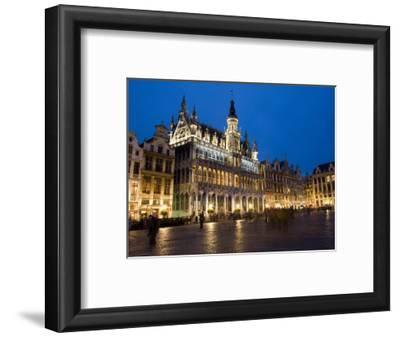 Evening, Musee De La Ville De Bruxelles, Grand Place, Brussels, Belgium, Europe