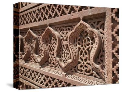Intricate Carving, Qutb Complex, Delhi, India, Asia