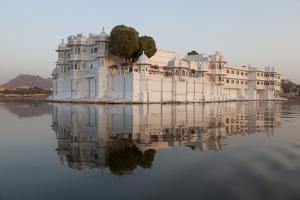 Perfect Reflection of Lake Palace Hotel, India by Martin Child