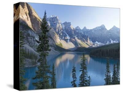 Reflections in Moraine Lake, Banff National Park, UNESCO World Heritage Site, Alberta, Rocky Mounta