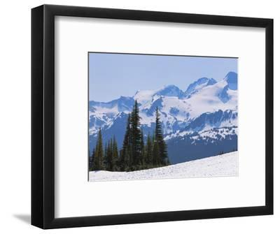 Snow Covered Mountains Near Whistler, British Columbia, Canada, North America
