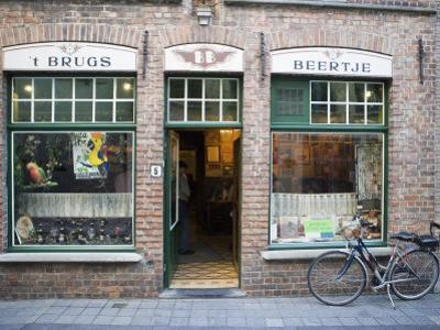 T Brugs Beertje, Bar, Bruges, Belgium, Europe by Martin Child