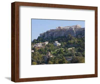 The Acropolis from Ancient Agora, UNESCO World Heritage Site, Athens, Greece, Europe