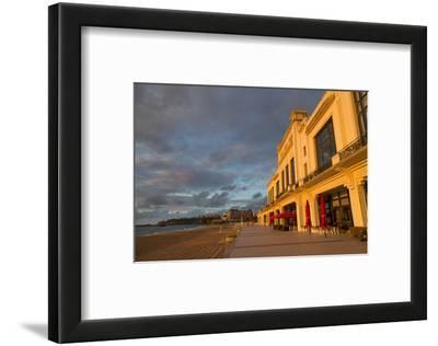 The Beach, Casino and Promenade in Biarritz, Pyrenees Atlantiques, Aquitaine, France, Europe