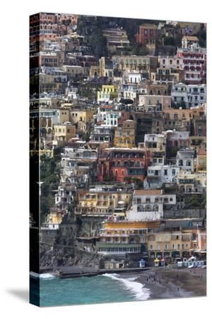 The Colourful Town of Positano Perched