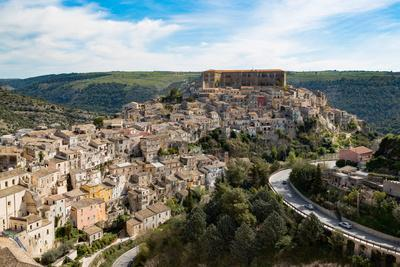 The Historic Hill Town of Ragusa Ibla, Ragusa, UNESCO World Heritage Site, Sicily, Italy, Europe