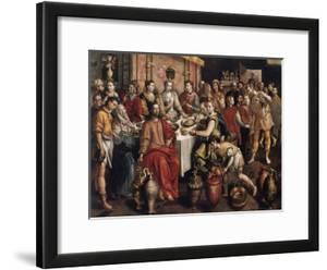 The Marriage at Cana, 1596-1597 by Martin de Vos