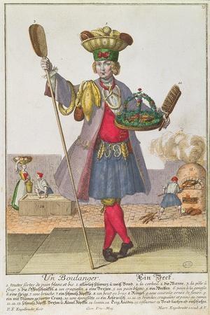 A Baker, C.1735