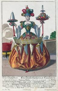 Confectioner, c.1735 by Martin Engelbrecht
