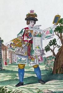 Picture Seller, circa 1735 by Martin Engelbrecht