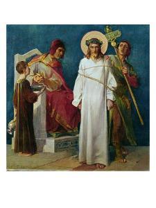 Jesus Condemned to Die by Martin Feuerstein