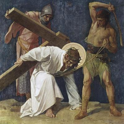 Jesus Falls the First Time (3rd Station of the Cross) 1898