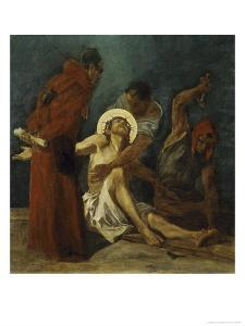 Jesus is Nailed to the Cross 11th Station of the Cross by Martin Feuerstein