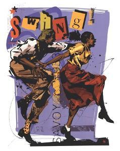 Swing I by Martin French