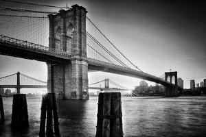 Brooklyn Bridge Sunrise by Martin Froyda