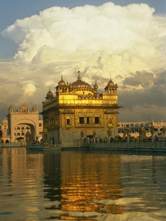 16th Century Golden Temple at Amritsar