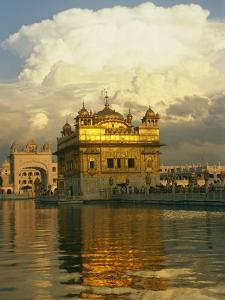 16th Century Golden Temple at Amritsar by Martin Gray