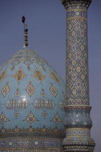 Dome and minaret of the Shrine of Jam Karan. by Martin Gray
