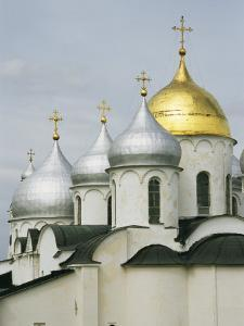 Domes of the Cathedral of St. Sophia by Martin Gray