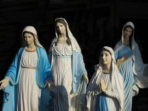 Statues of Mary, the Mother of Jesus by Martin Gray