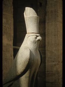Stone Sculpture of Horus by Martin Gray