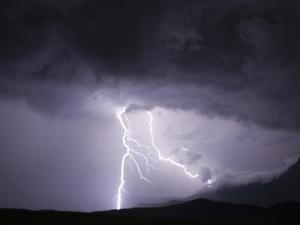 Lightning Strike by Martin Harvey