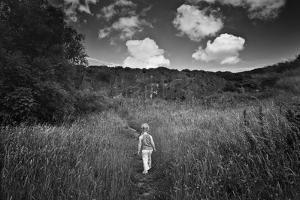 Beyond the Ridge I by Martin Henson
