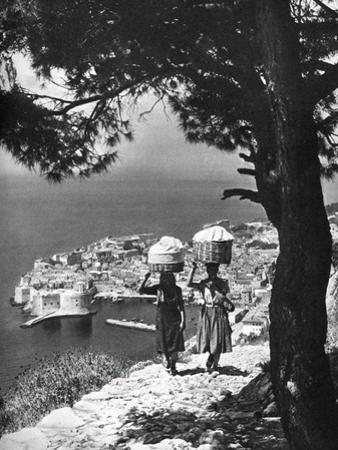 Dubrovnik, Croatia, 1937 by Martin Hurlimann