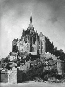 Mont Saint-Michel, Normandy, France, 1937 by Martin Hurlimann
