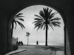 Quai Des États-Unis, Nice, France, 1937 by Martin Hurlimann