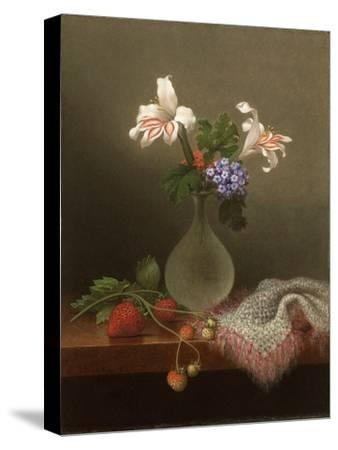 A Vase of Corn Lilies and Heliotrope, 1863