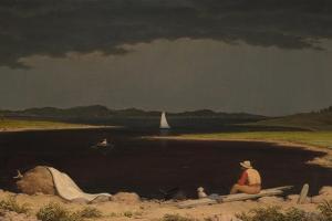 Approaching Thunder Storm, 1859 by Martin Johnson Heade