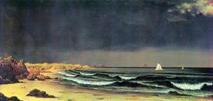 Emerging Storm, Narragansett Bay by Martin Johnson Heade