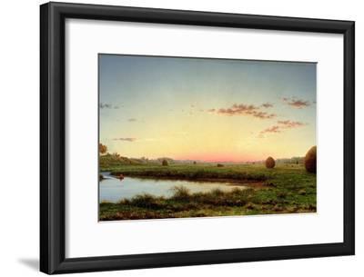 Haystacks on the Newburyport Marshes, 1862