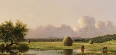 Haystacks by Martin Johnson Heade