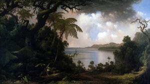 Jamaica, View from Fern-Tree Walk, 1887 by Martin Johnson Heade