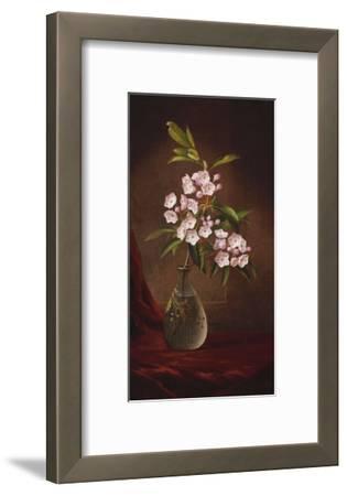 Laurel Blossoms in a Vase