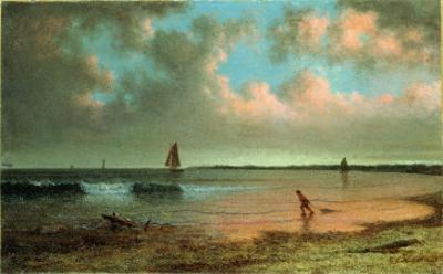 New England Coastal Scene by Martin Johnson Heade