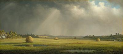 Newburyport Meadows, c.1876–81 by Martin Johnson Heade