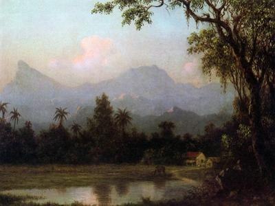 Rio De Janeiro, Brazil, C.1865 (Oil on Board)