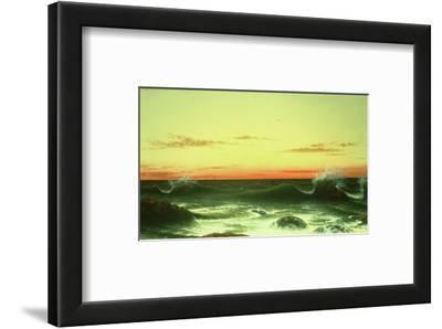 Seascape: Sunset, 1861