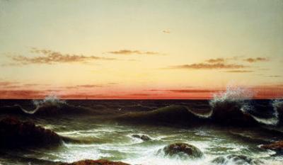 Sunset, 1861 by Martin Johnson Heade