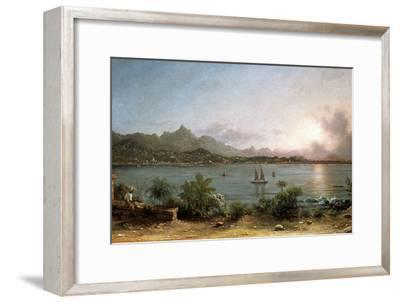 The Harbour at Rio De Janeiro, 1864