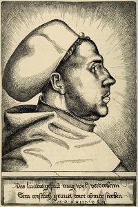 Martin Luther, (1483-1546), German Reformer, Portrait