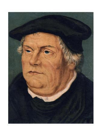 Martin Luther, 16th Century German Protestant Reformer