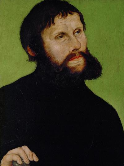 Martin Luther as Junker Joerg, Disguised as a Country Squire, 1521-22-Lucas Cranach the Elder-Giclee Print
