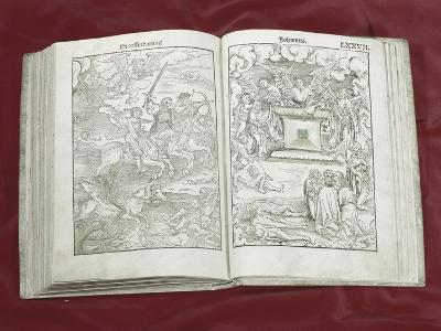 Martin Luther Bible: Four Horsemen of Apocalypse--Giclee Print