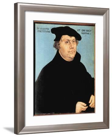 Martin Luther, C.1532-Lucas Cranach the Elder-Framed Giclee Print