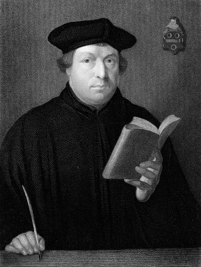 Martin Luther, C1830--Giclee Print