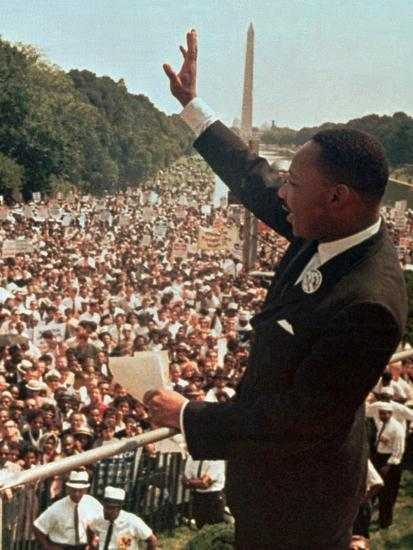 Martin Luther King Jr.-Associated Press-Photographic Print